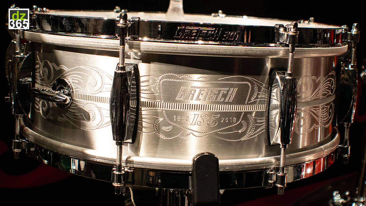 The Gretsch 135th anniversary drums Mike Johnston takes to Asia