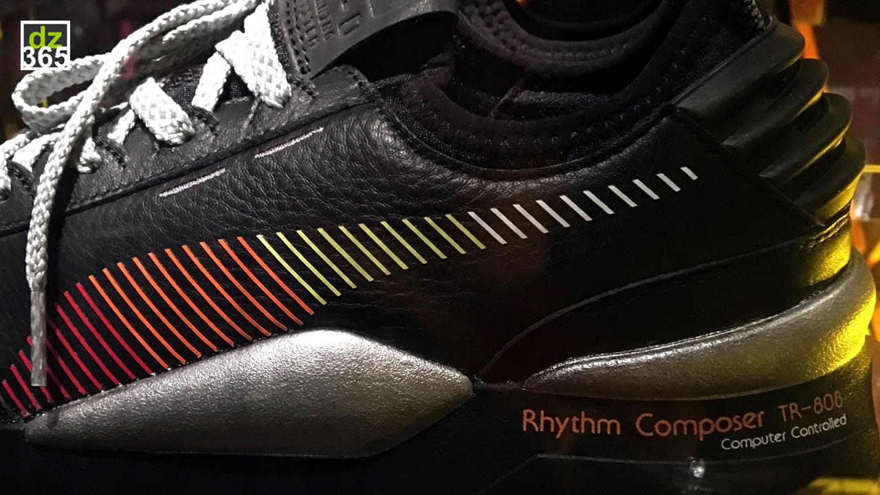 The PUMA RS-0 Roland sneaker is ode to the Roland TR-808 - Legendary drum machine now has its own kicks