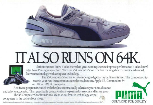The PUMA RS Computer Shoe