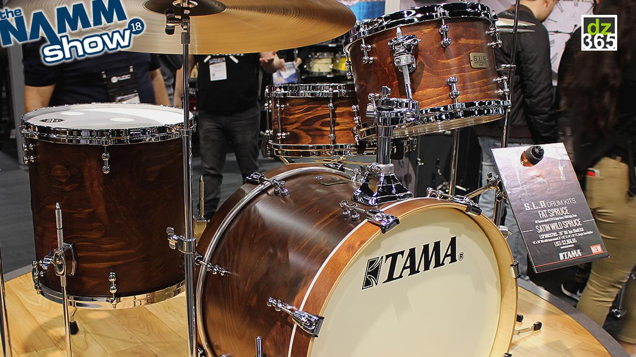 Tama S.L.P. Fat Spruce Drum Kit