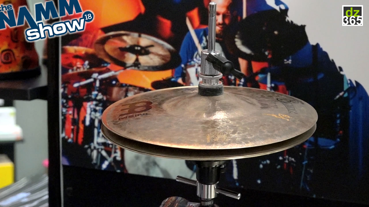 Watch and hear Benny Greb\'s new Meinl 8\