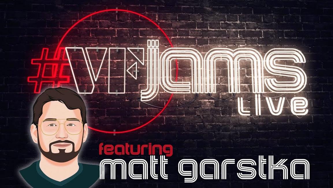 Watch Matt Garstka\'s vfJAMS LIVE performance - Including interviews, transcriptions and play-along tracks