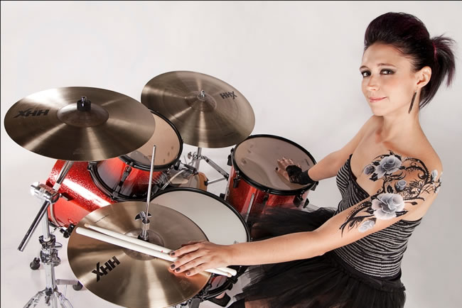 2010 Sonor photo shoot