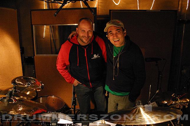 Recording session Martin Verdonk's solo cd