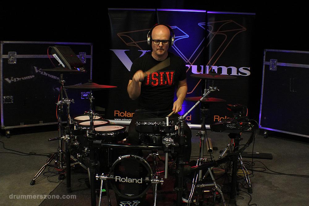 Adams Drummers Festival 2014 - Roland demo