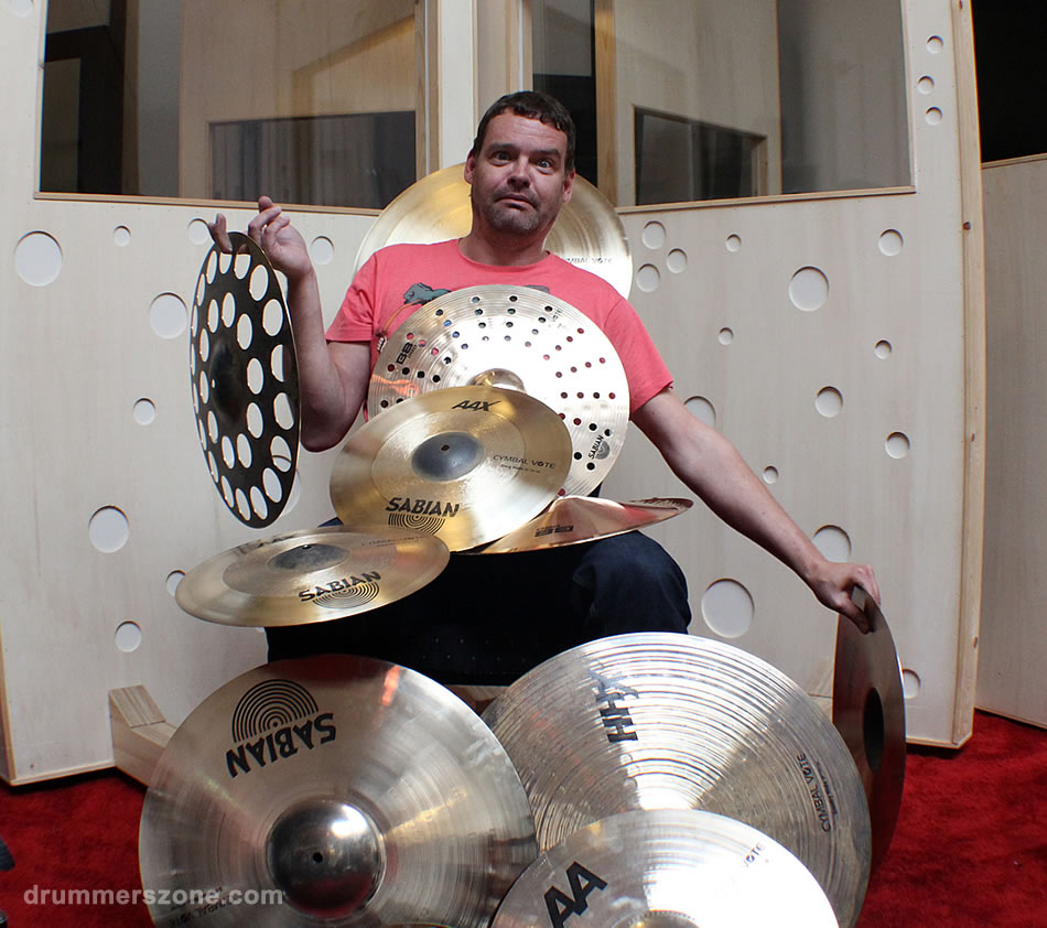 Sabian Cymbal Vote 2014 - Photo Shoot