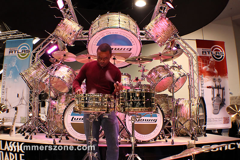 Brush Rudiments Solo NAMM 2013