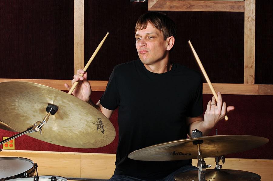 Gretsch Drums photo shoot 2012