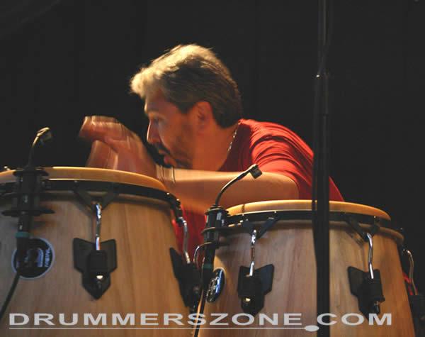 Drummerszone Luis Conte