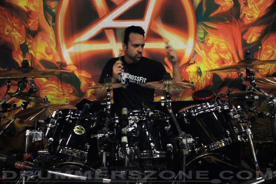 Live with Anthrax