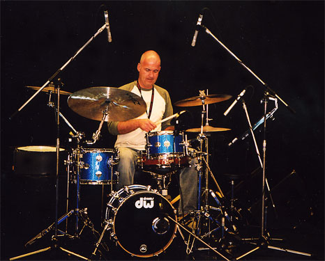 Drummerszone - James Taylor drums and percussion artists