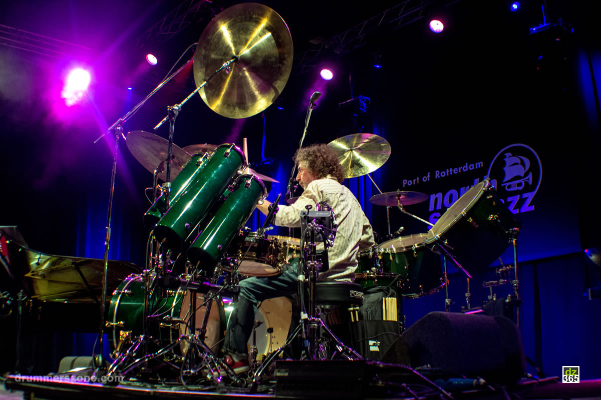 Simon Phillips with Hiromi - North Sea Jazz 2016