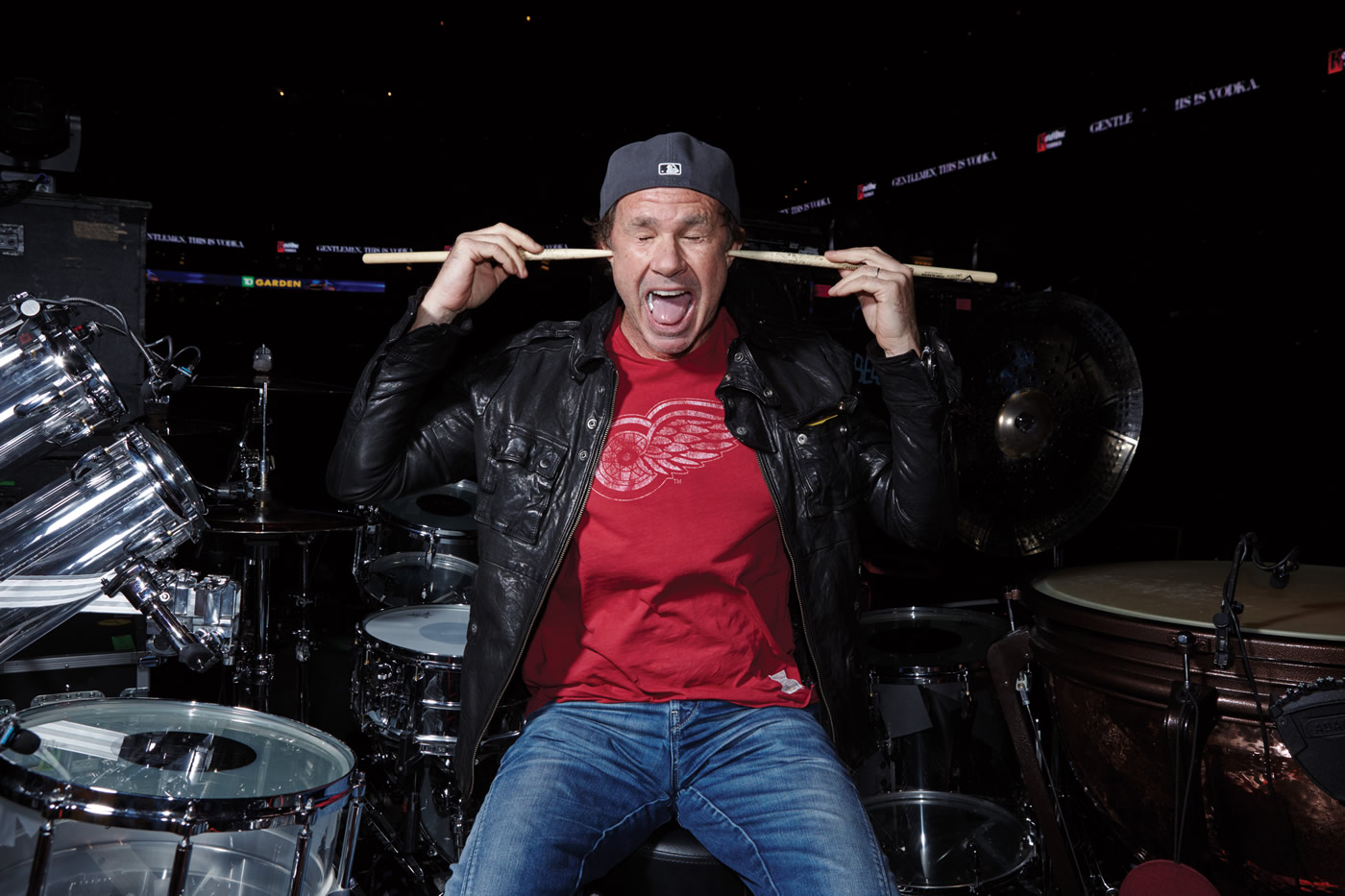 Chad Smith & Vater 25 year snapshots