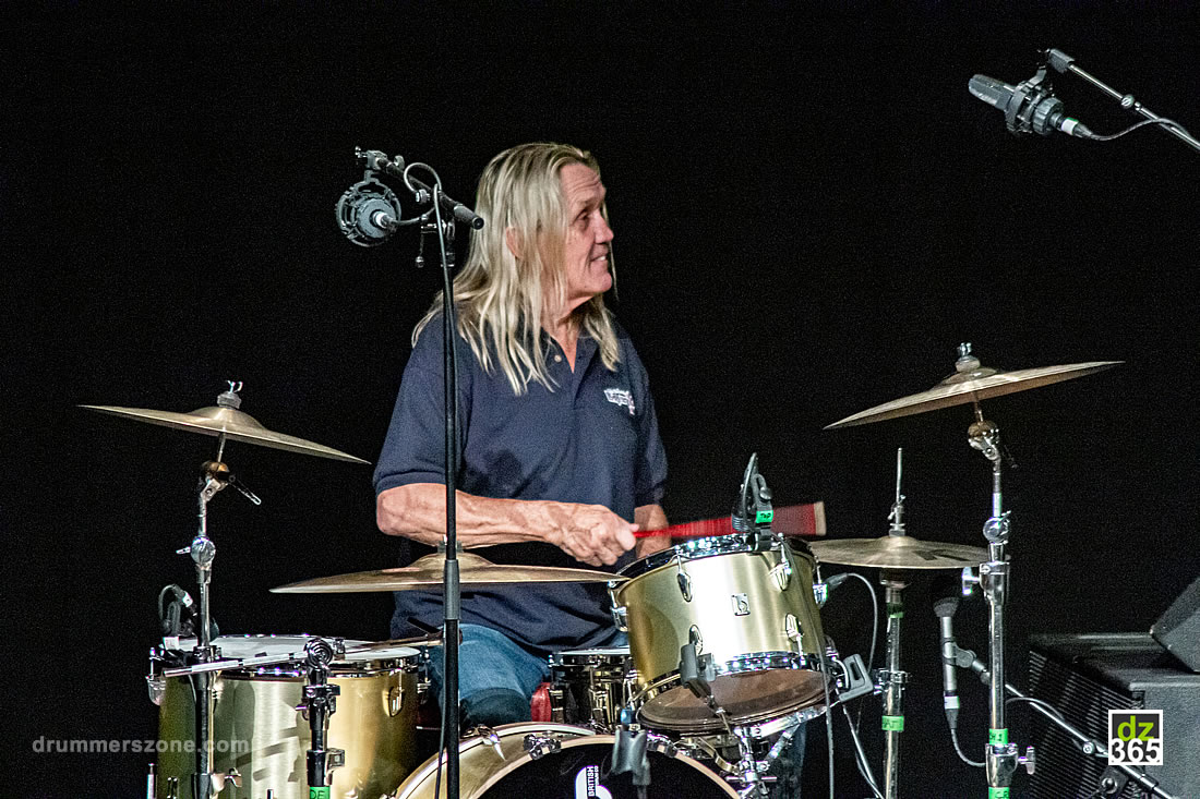 An evening with Iron Maiden drummer Nicko McBrain