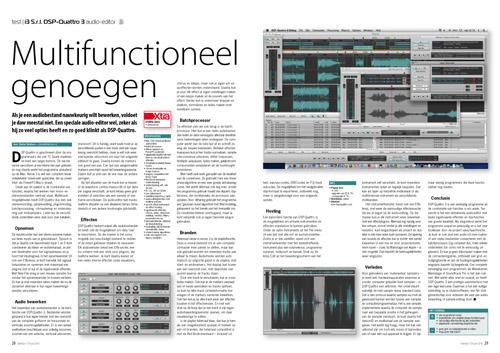 i3 S r l  DSP-Quattro 3 audio-editor - Interface nl