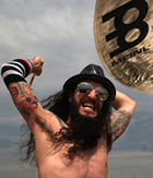 Rob Zombie drummer Tommy Clufetos joins Meinl Cymbals family