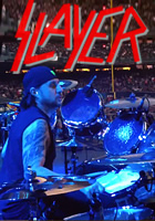 Slayer drummer Dave Lombardo makes rocking hard look easy. Need proof? Just watch the drum-cam footage of Dave performing during the band's recent concert at Yankee Stadium in New York City, USA