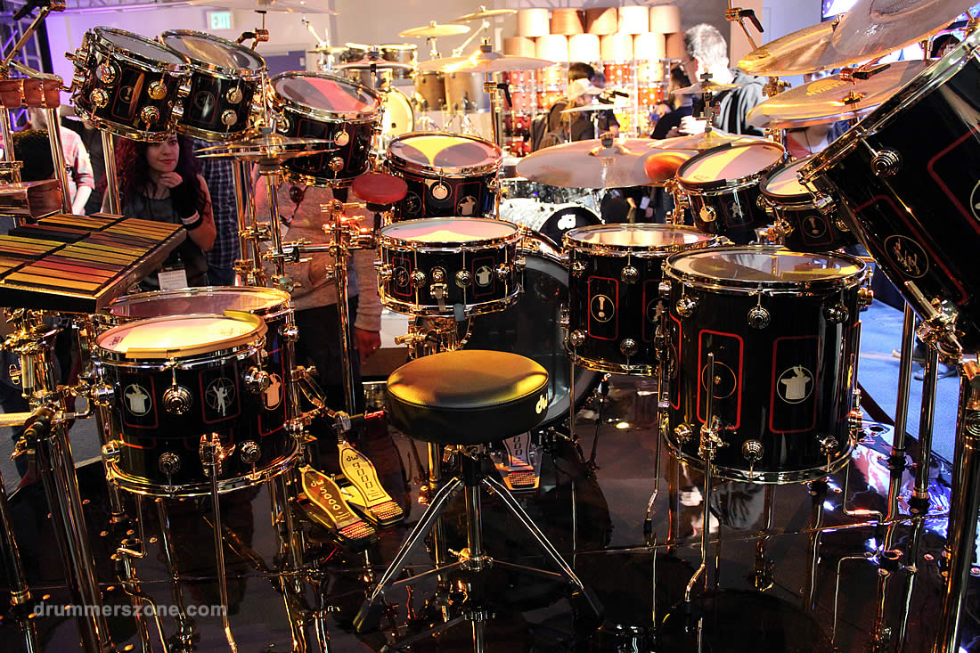 Drummerszone News Video Neil Peart S R40 Tour Kit Collector S Series