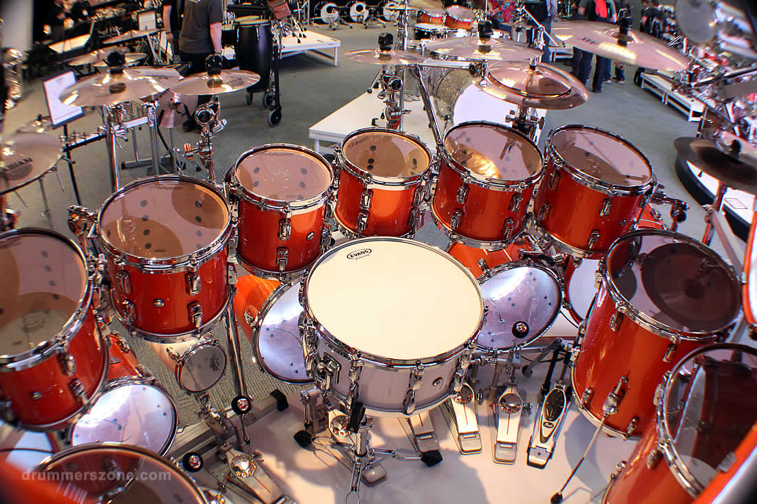 drummerszone news all pearl drums at namm 2015 in nine 1 minute videos. Black Bedroom Furniture Sets. Home Design Ideas