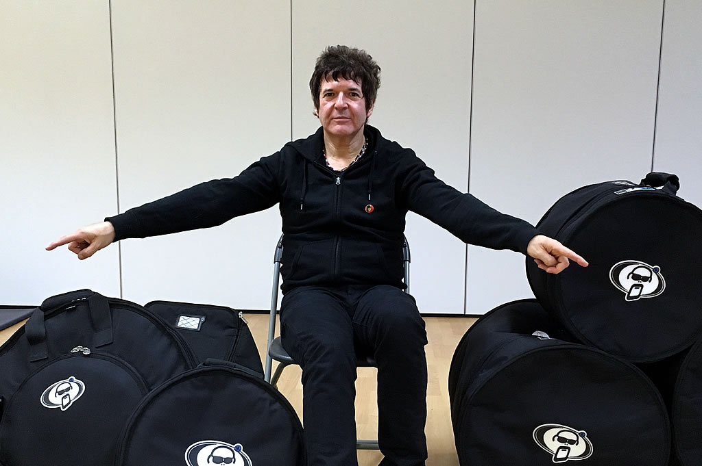 Clem Burke joins Protection Racket family