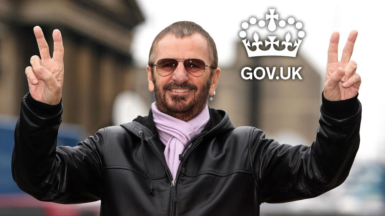 From now on it is Sir Ringo Starr - The Beatles drummer new member of the Order of Chivalry