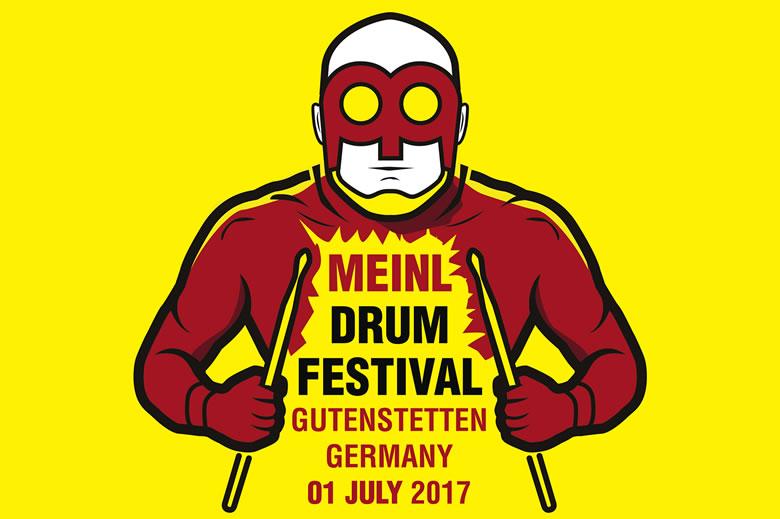 One week until Meinl Drumfestival 2017