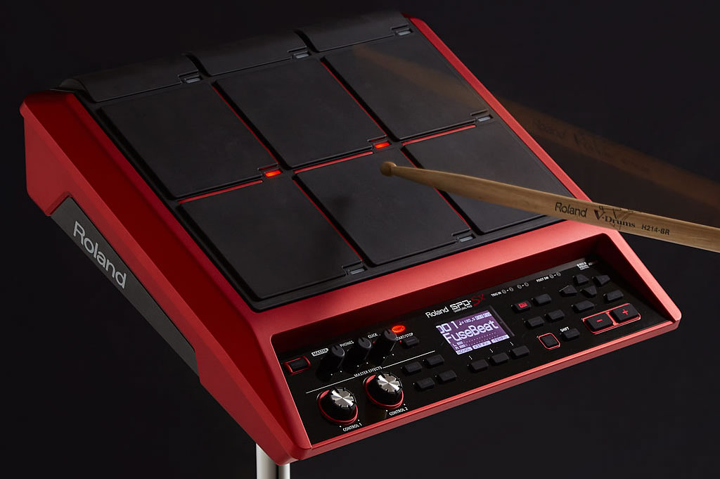 Roland SPD-SX Special Edition now available - The better cool for sampling, looping and triggering