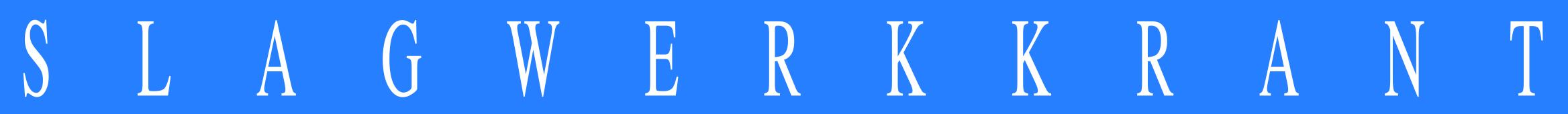 Slagwerkkrant logo #3