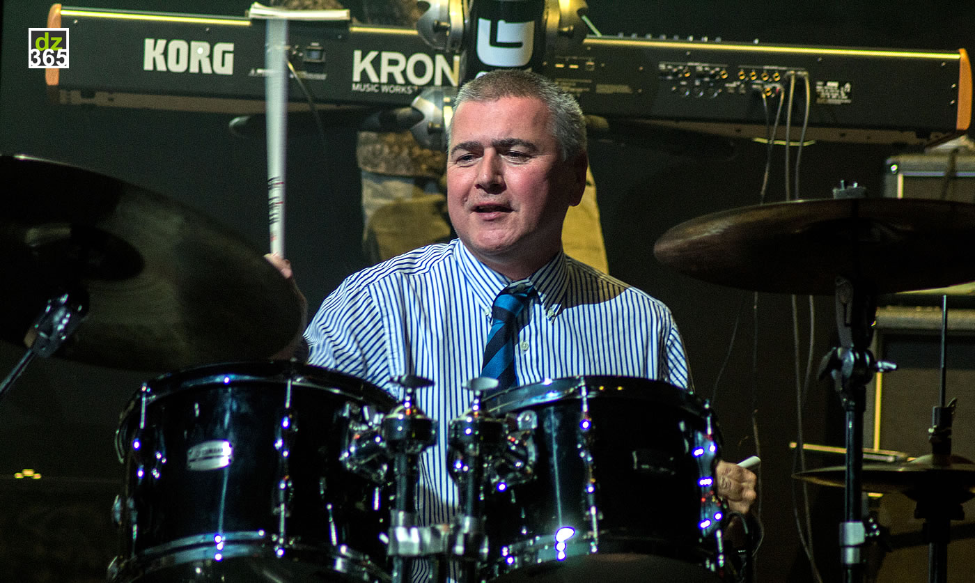 Steve White Live at Remo Drummer Night 2017 - British drum legend plays The Style Council