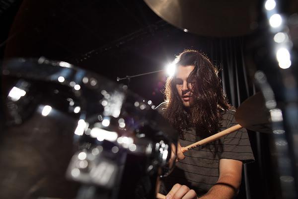 Aric Improta at Meinl Drumfestival 2017