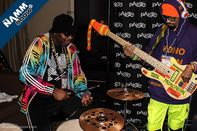 Videos adn demos Daru Jones with new DW/PDP Drums and Paiste cymbals