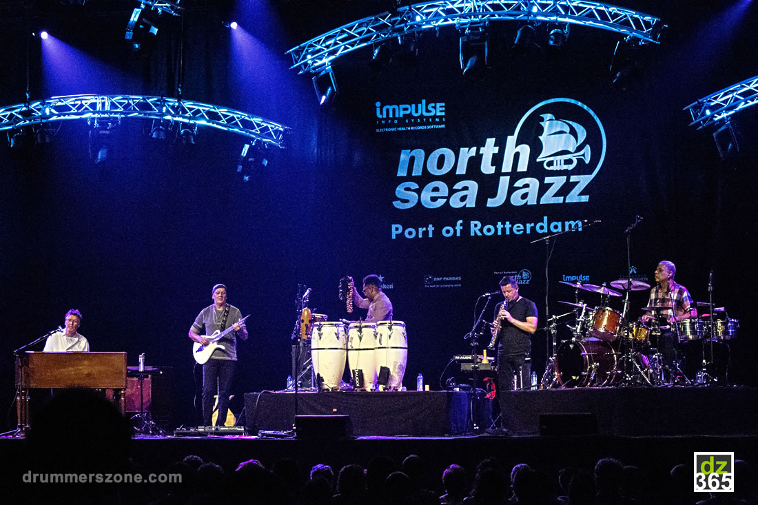 Richard Bailey and Edwin Sanz at the North Sea Jazz Festival 2017