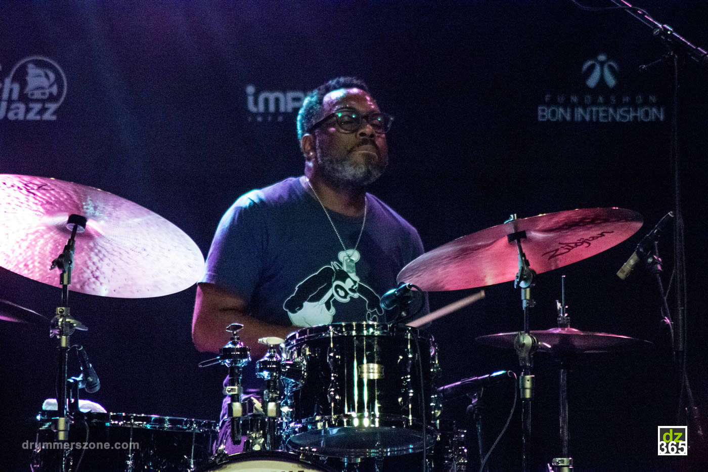 Nate Smith at the North Sea Jazz Festival 2017