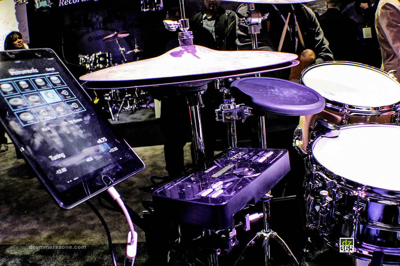 drummerszone news yamaha dt50 drum triggers at namm 2017. Black Bedroom Furniture Sets. Home Design Ideas