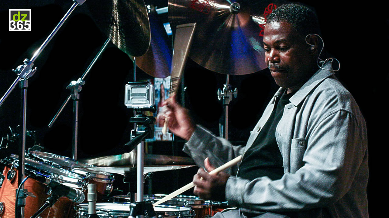 Honoring Ndugu Chancler with four clinic videos - Including Full show at the London Drum Show