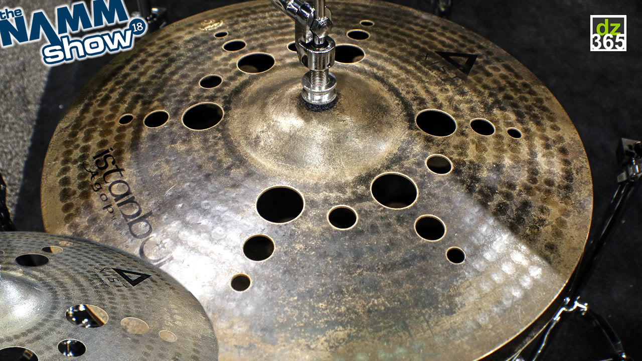 Istanbul Agop - video demo Xist ION Dark cymbals - A dark force in a bright cymbal series