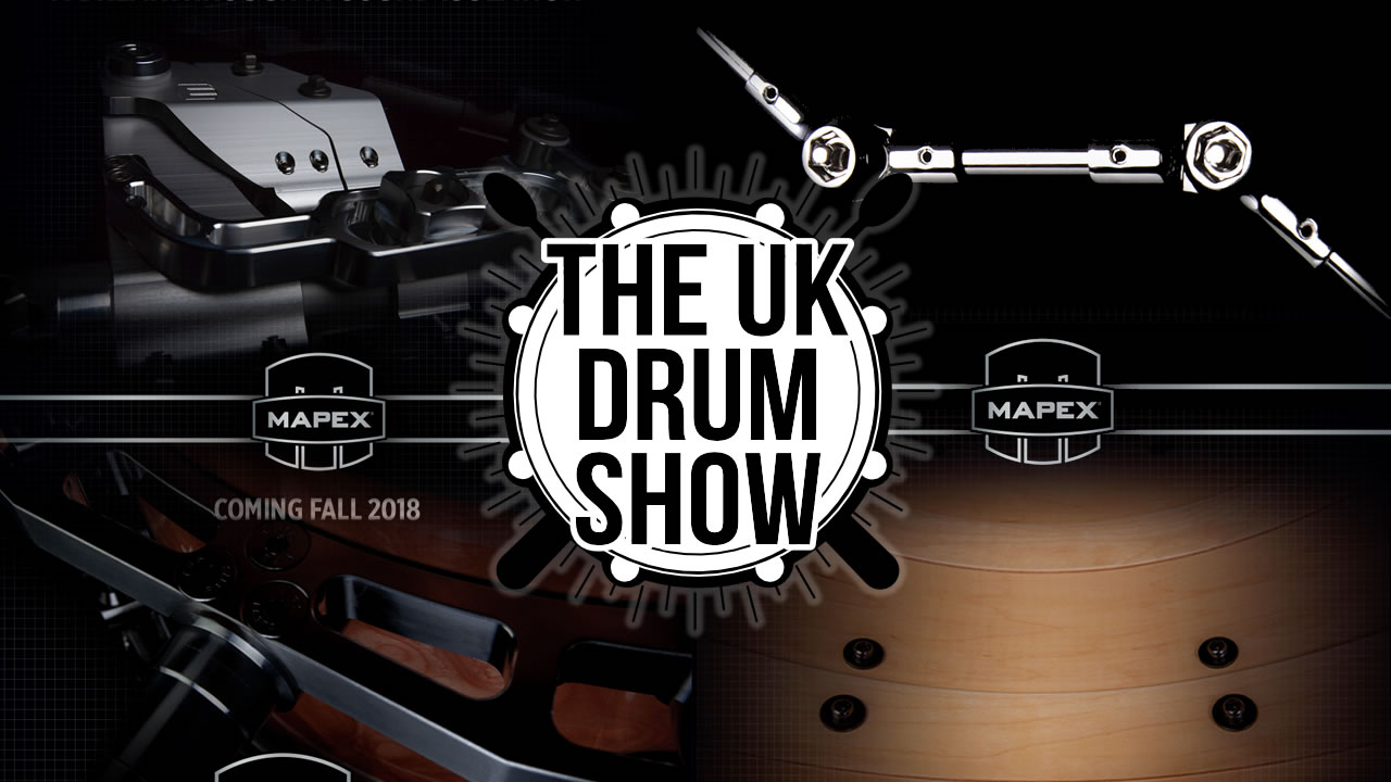 Mapex launches these new drums at The UK Drum Show 2018 + more news from the festival and the full schedule