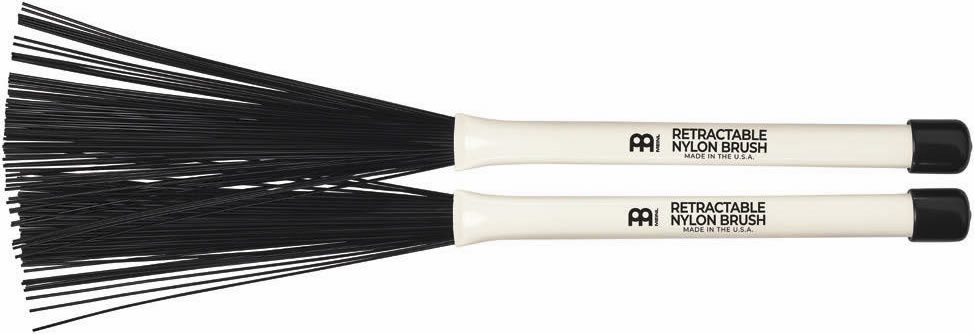 Meinl Stick and Brush - Retractable Nylon Brush