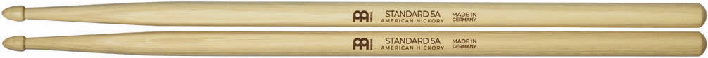 Meinl Stick and Brush - 5A Acorn Tip Medium Hickory
