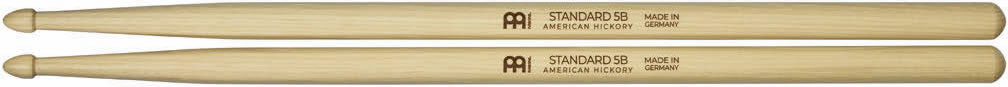 Meinl Stick and Brush - 5B Acorn Tip Medium / Medium-Light Hickory