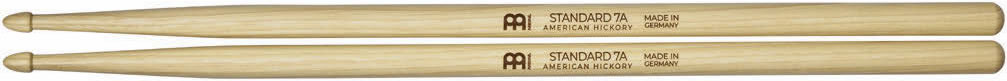 Meinl Stick and Brush - 7A Acorn Tip Heavy Hickory