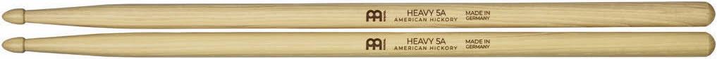 Meinl Stick and Brush - 5A Acorn Tip Heavy Hickory