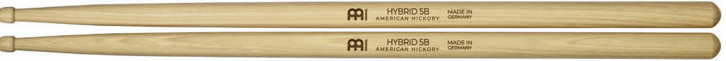 Meinl Stick and Brush - 5B Hybrid Tip Medium / Medium-Light Hickory