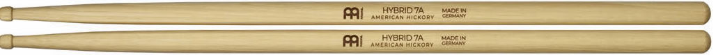 Meinl Stick and Brush - 7A Hybrid Tip Heavy Hickory
