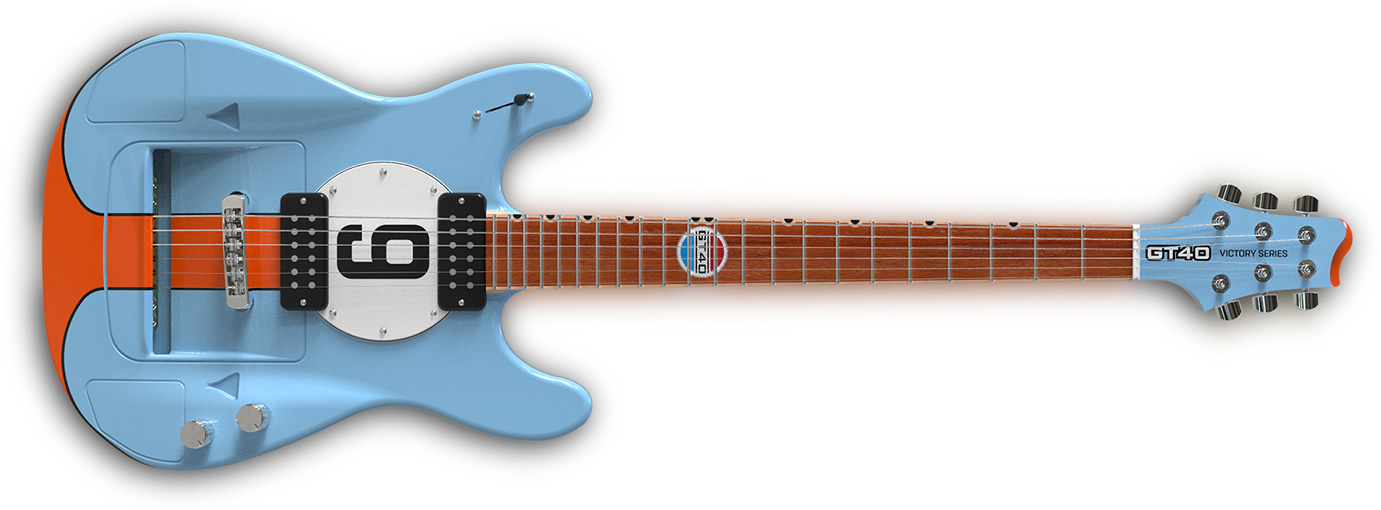 The GT40 Guitar