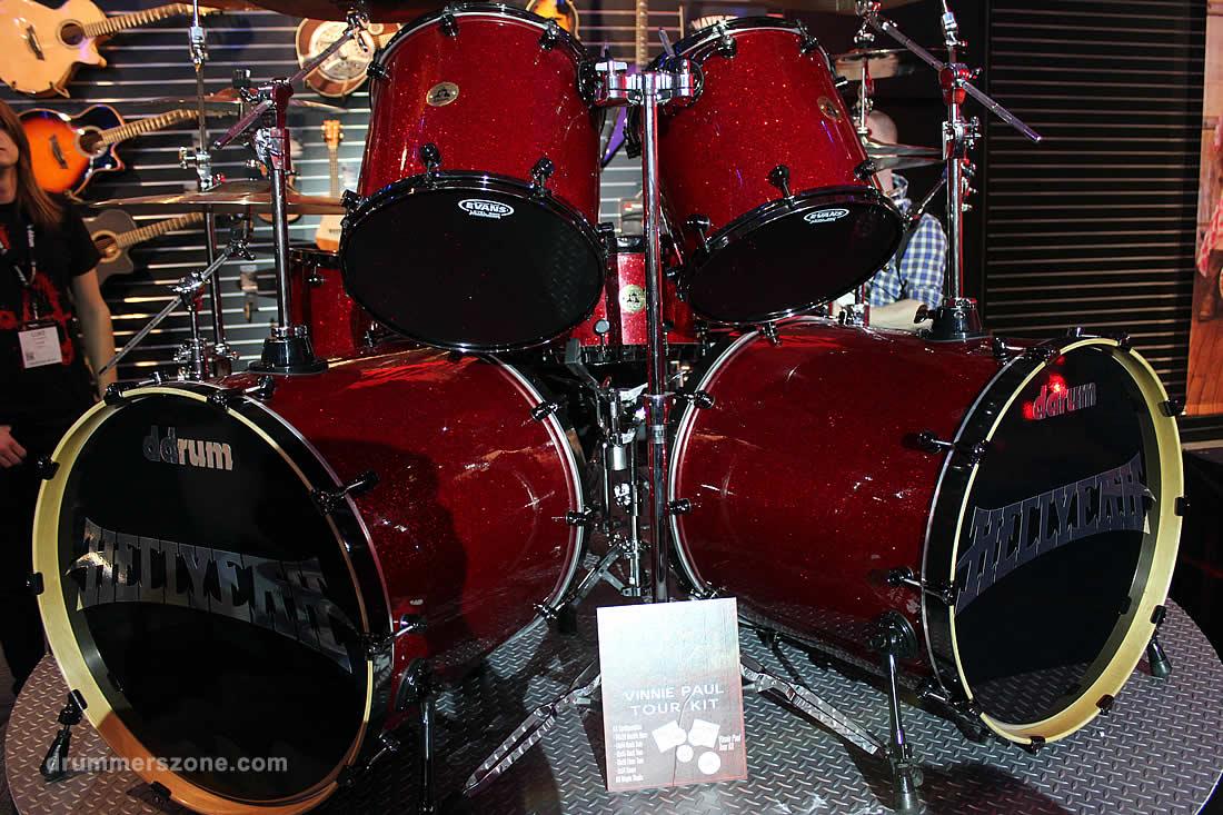 Vinnie Paul's ddrum Tour Kit