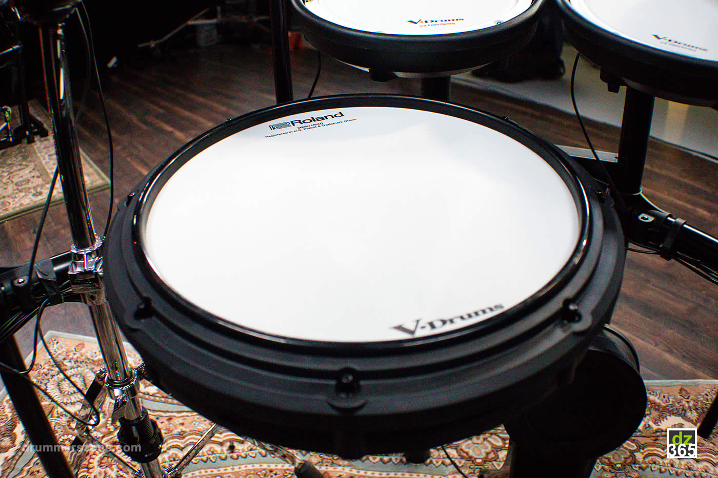 Roland TD-17 - PDX-12 snare pad