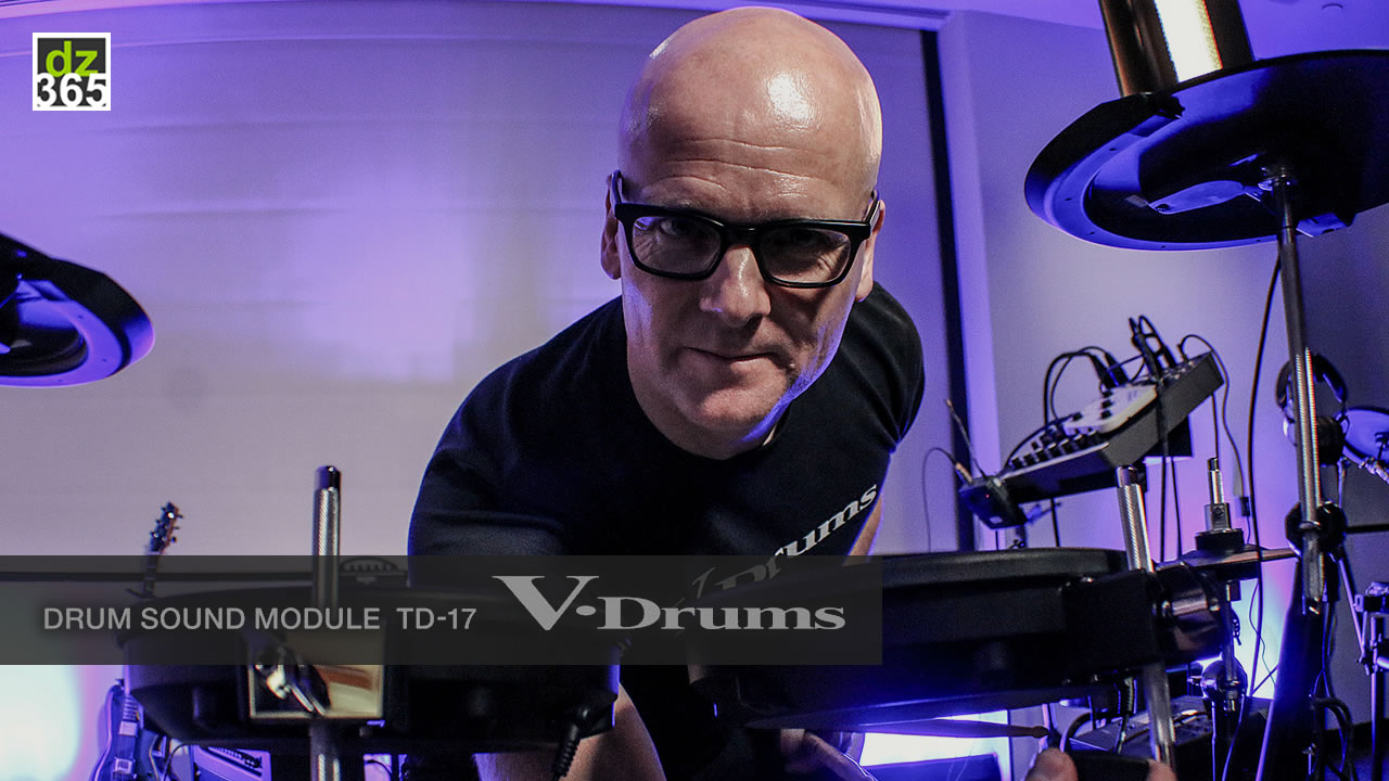 Why Roland TD-17 V-Drums are as versatile as drummers