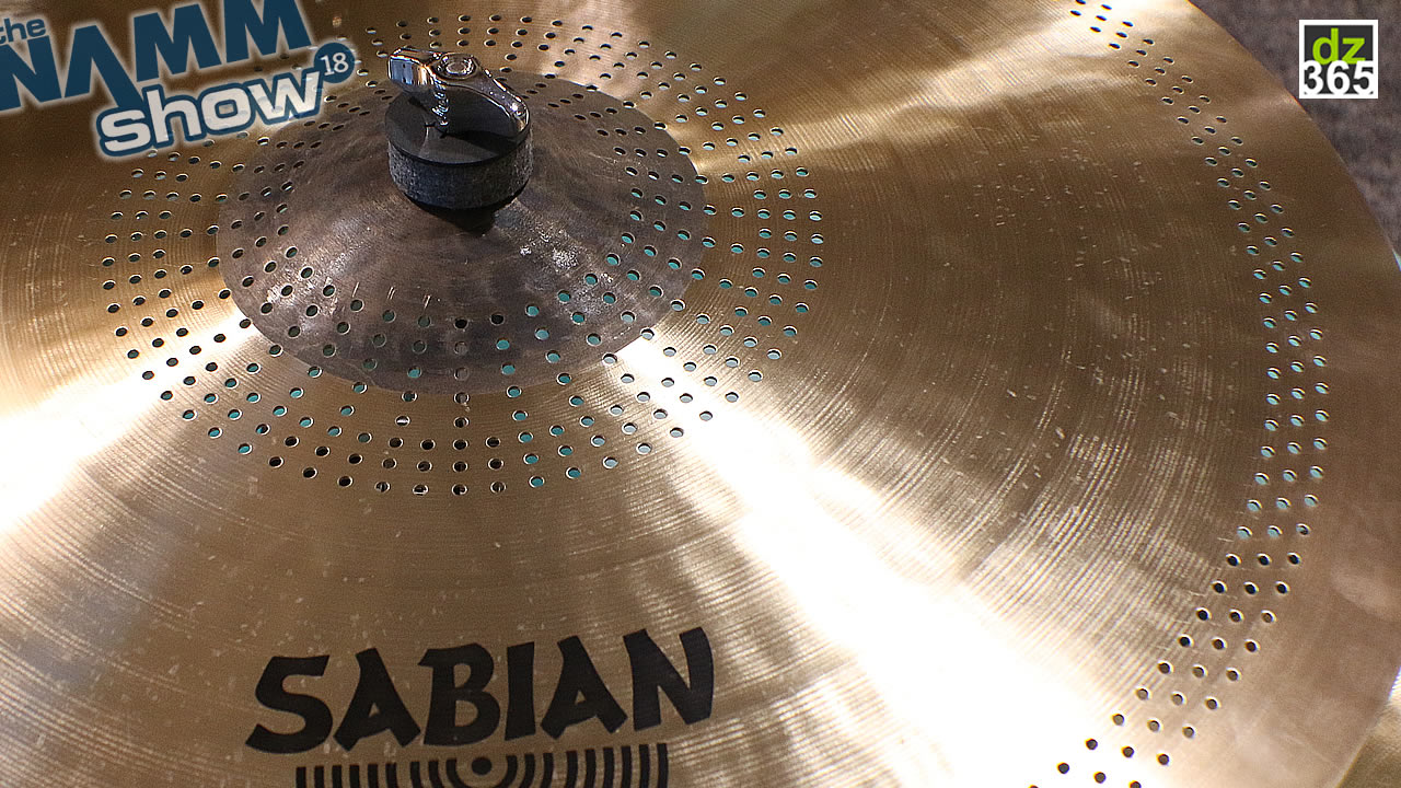 Sabian cuts the loud with FRX Cymbals - Less noise in the same sound spectrum