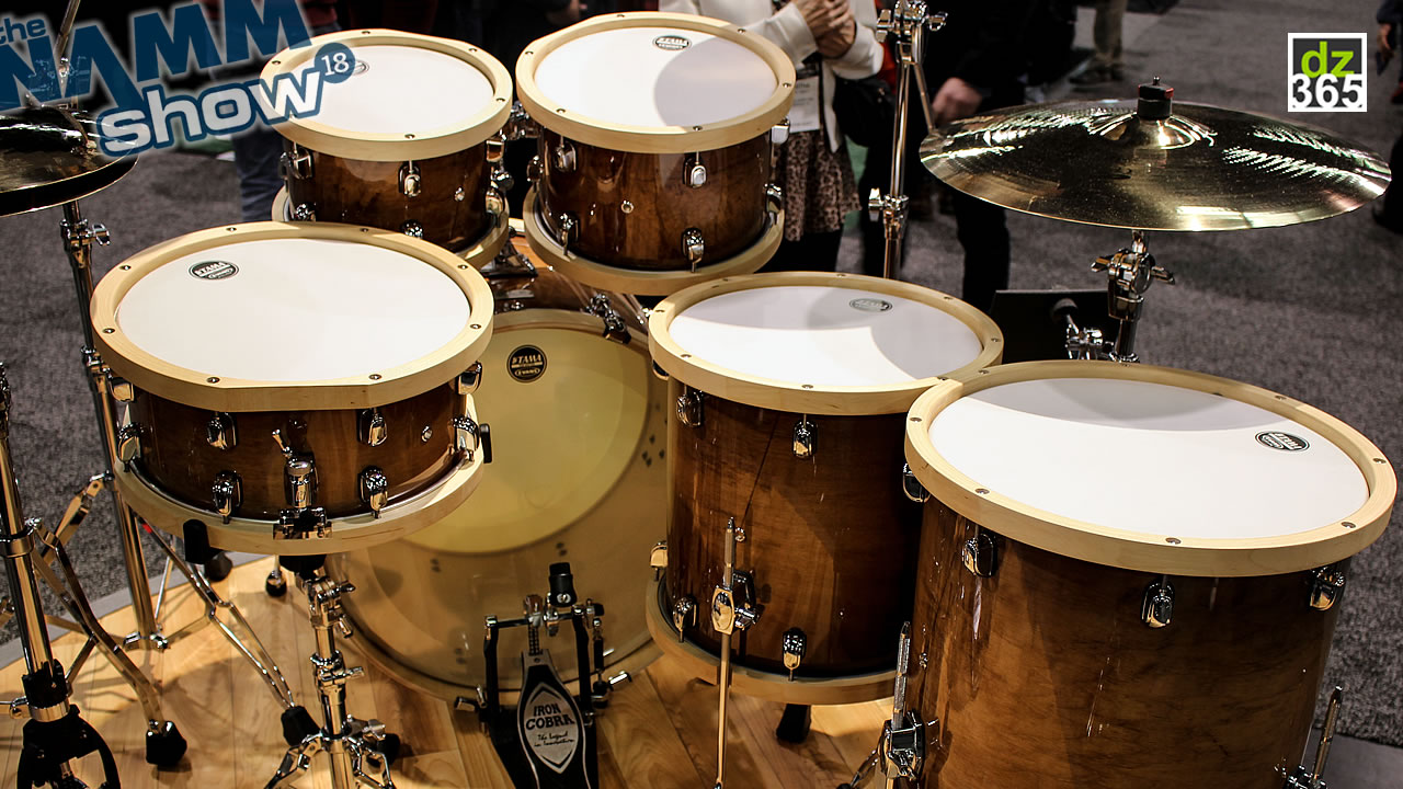 Video demo Tama S.L.P. Studio Maple Drum Kit